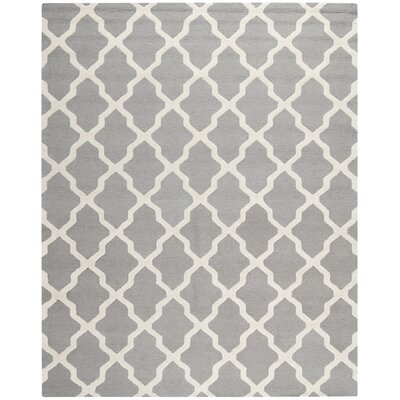 Sugar Pine Hand-Tufted Gray Area Rug Rug Size: 76 x 96