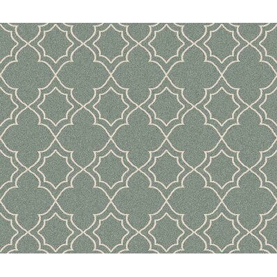 Amato Green Indoor/Outdoor Area Rug Rug Size: Square 7'3