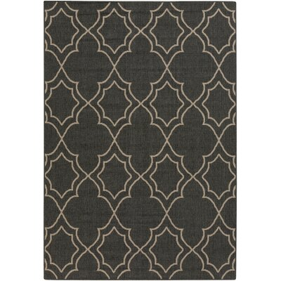 Amato Taupe Indoor/Outdoor Area Rug Rug Size: 53 x 76