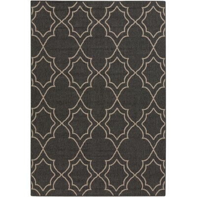 Amato Taupe Indoor/Outdoor Area Rug Rug Size: 6 x 9