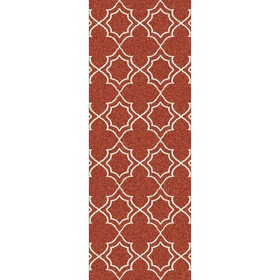 Amato Red Indoor/Outdoor Area Rug Rug Size: Runner 23 x 79