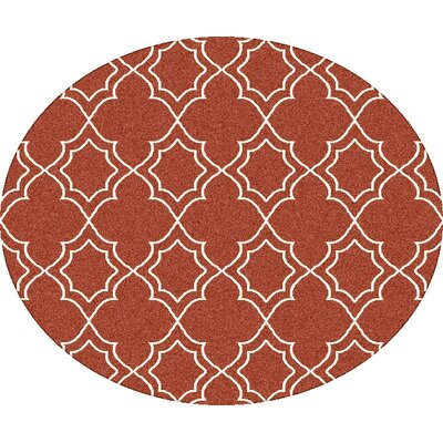 Amato Red Indoor/Outdoor Area Rug Rug Size: 53 x 76