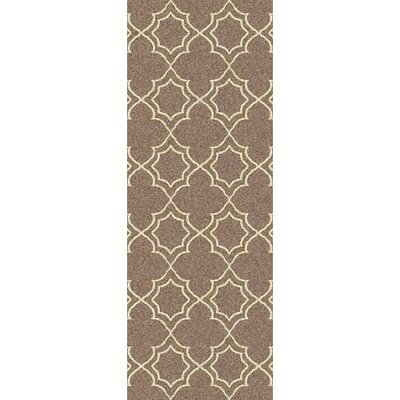 Amato Beige Indoor/Outdoor Area Rug Rug Size: Runner 23 x 79