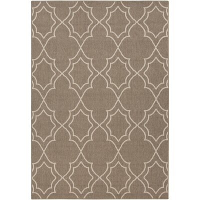 Amato Beige Indoor/Outdoor Area Rug Rug Size: Rectangle 53 x 73