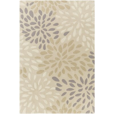 Alcott Hill Carrie Hand-Tufted Ivory Area Rug