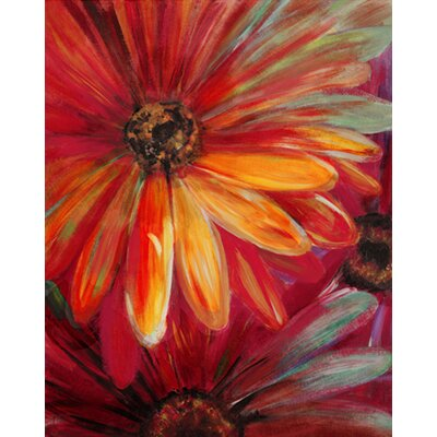 Fresh Bloom Painting Print on Canvas