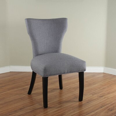Cullen Parsons Chair Upholstery: Gray
