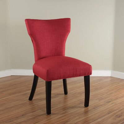 Cullen Parsons Chair Upholstery: Deep Red