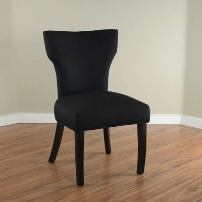 Cullen Parsons Chair Upholstery: Black