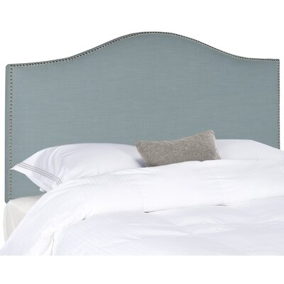 Carolyn Upholstered Panel Headboard Size: Full, Upholstery: Wedgwood Blue