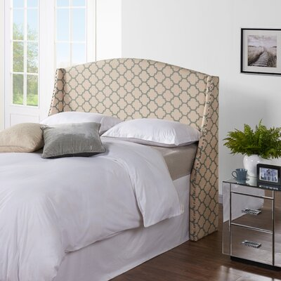 Cynthia Upholstered Wingback Headboard Size: King / California King