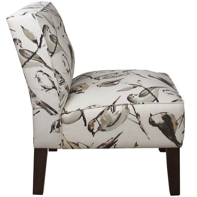 Garden Slipper Chair Upholstery: Birdwatcher Charcoal