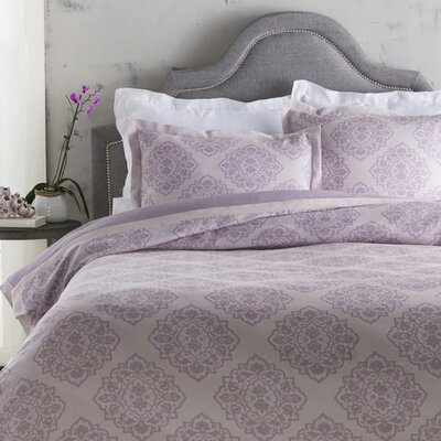 Rossendale Duvet Cover Size: King, Color: Purple