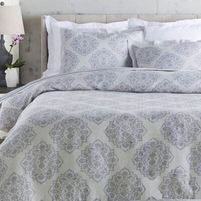Rossendale Duvet Cover Size: Twin, Color: Gray