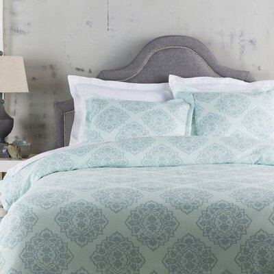 Plymouth Duvet Set Size: Full / Queen, Color: Blue