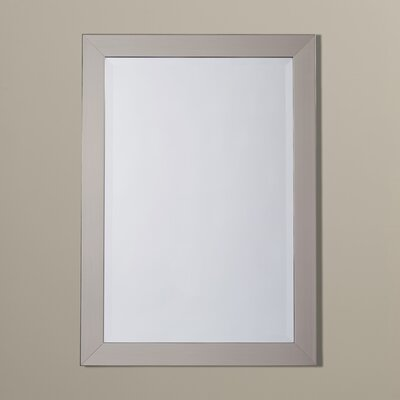 Stainless Rectangle Wall Mirror