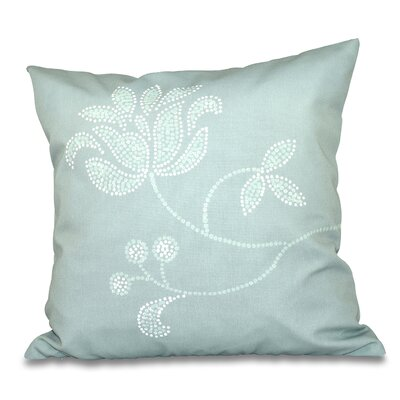 Orchard Lane Floral Bloom Outdoor Throw Pillow Size: 18