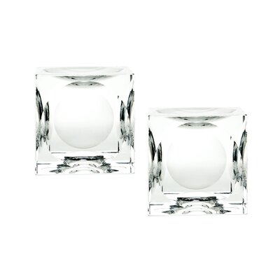 Crystal Votive Size: 4 H x 4 W x 4 D