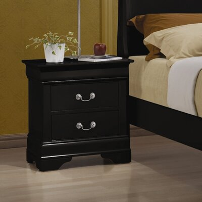 Northampton 2 Drawer Nightstand