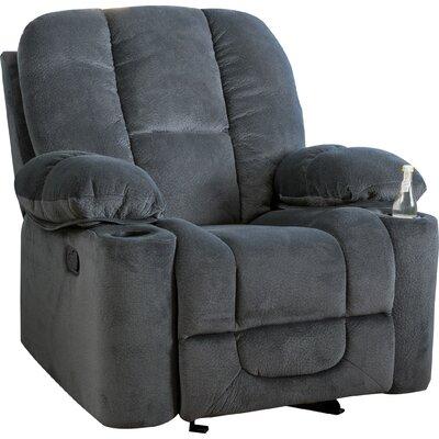 Eastlake Gliding Recliner Upholstery: Steel