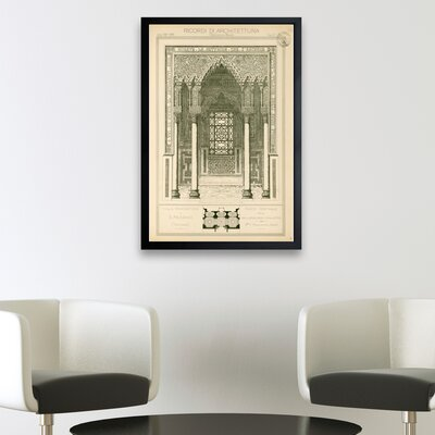 Villa Panciatichi Framed Graphic Art