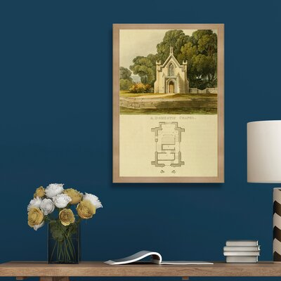 Domestic Chapel Framed Painting Print Size: 24