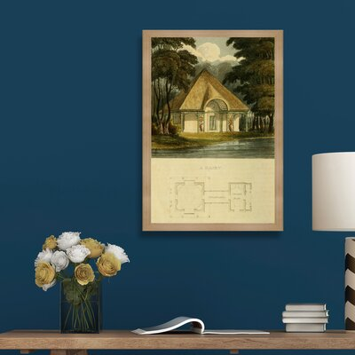 Dairy Framed Painting Print