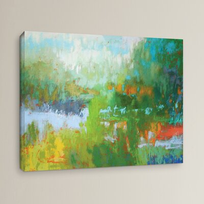 Southern Charm Painting Print on Wrapped Canvas Size: 10