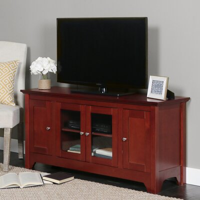 Wilburn 52 TV Stand Color: Walnut Brown