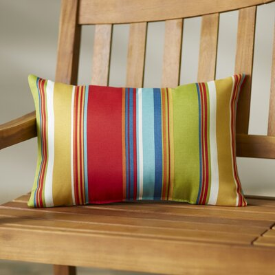 Briggs Outdoor Lumbar Pillow Fabric: Westport Garden