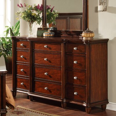 Bancroft Woods 12 Drawer Dresser