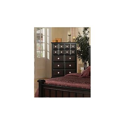 Elsa 7 Drawer Chest Color: Ebony
