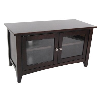 Bel Air 36 TV Stand Color: Espresso