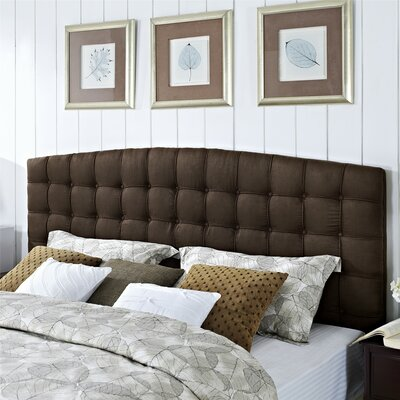 Malvern King Upholstered Panel Headboard