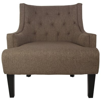 Callahan Arm Chair Color: Nutmeg