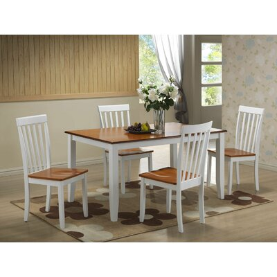 Ann 5 Piece Dining Set