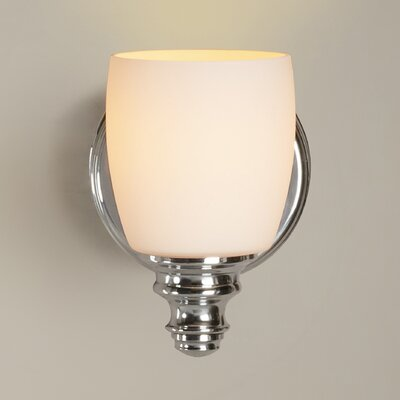 Hamptonburgh 1-Light Wall Sconce Finish: Chrome