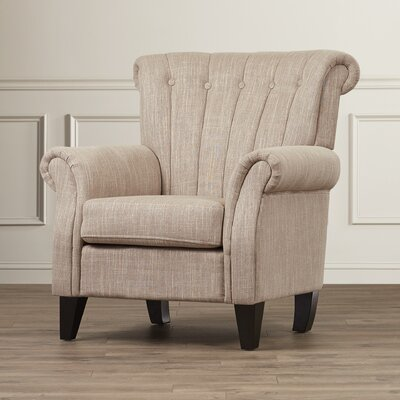 Fleetwood Arm Chair Upholstery: Light Mocha