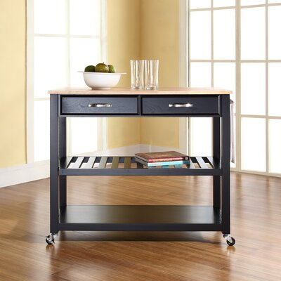 Alcott Hill Zacharias Kitchen Cart