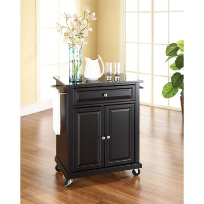Celeste Kitchen Cart with Granite Top