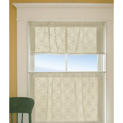 Massasoit Kitchen Valance Color: Cafe