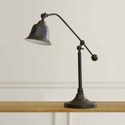 Reitman 37.5 H Table Lamp with Bell Shade