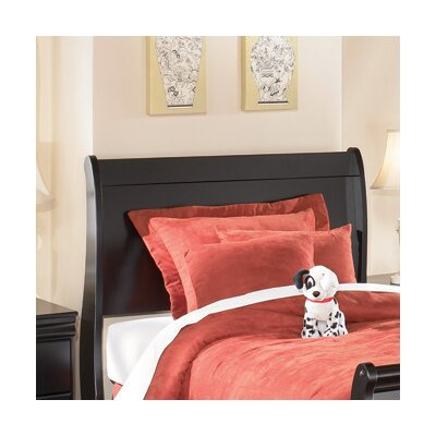 Carpenter Sleigh Headboard Size: Twin