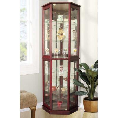 Castalia Corner Curio Cabinet