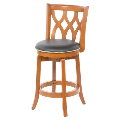 Marblehead  24 Swivel Bar Stool Finish: ES Cherry
