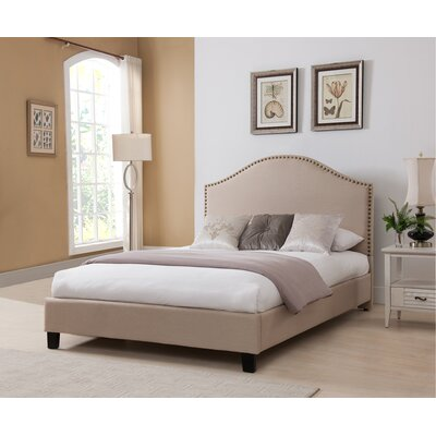 Penshire Upholstered Platform Bed Size: King