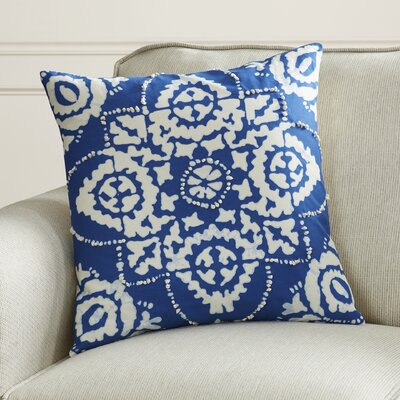 Clarktown Cotton Sheeting Throw Pillow