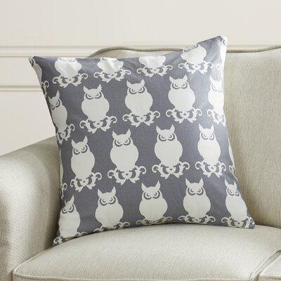 Winchester Cotton Duck Throw Pillow Color: Gray