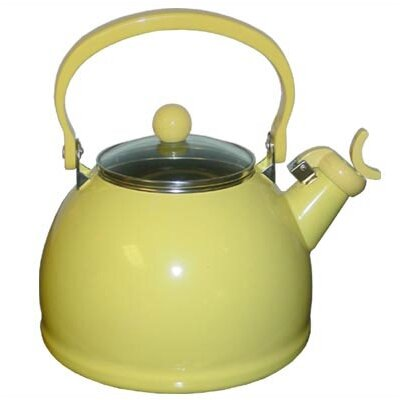 Ingatestone 2.5 Qt. Whistling Tea Kettle Color: Lemon