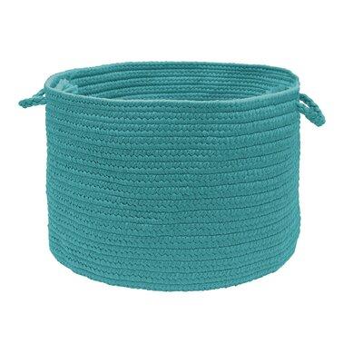 Fraley Utility Basket Color: Teal, Size: 12